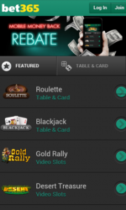best mobile casinos bet365