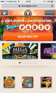 best mobile casinos leo